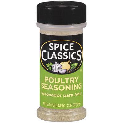 Spice Classics® Poultry Seasoning 2.37 oz. Shaker