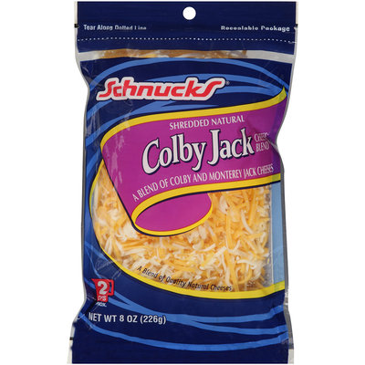 Schnucks® Shredded Colby Jack Cheese 8 oz. Bag