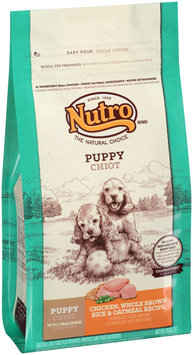 Nutro® Puppy Chicken, Whole Brown Rice & Oatmeal Recipe Dog Food 5 lb. Bag