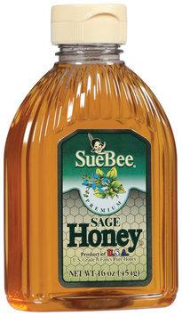 SueBee Sage Honey 16 Oz Squeeze Bottle