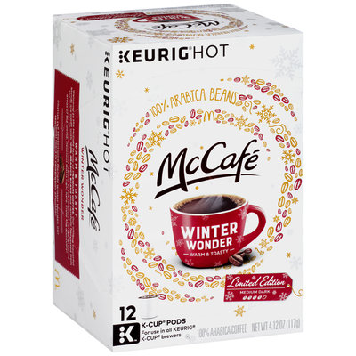 McCafe Limited Edition Winter Wonder Coffee K-Cup® Pods 12 ct Box