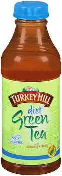 Turkey Hill Diet Green Tea with Ginseng and Honey 18.5 fl. oz. Bottle