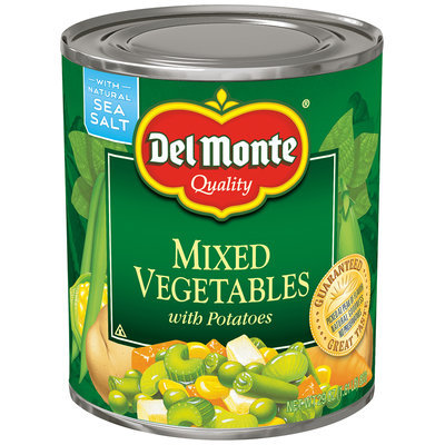 Del Monte™ Mixed Vegetables with Potatoes 29 oz. Can