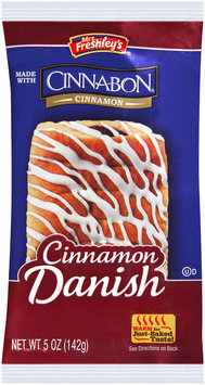 Mrs. Freshley's® Cinnamon Danish 5 oz. Wrapper
