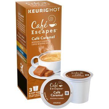 Cafe Escapes® Cafe Caramel K-Cup® Pods 3 ct Box