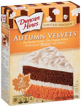 Duncan Hines® Autumn Velvets™ Cake Mix
