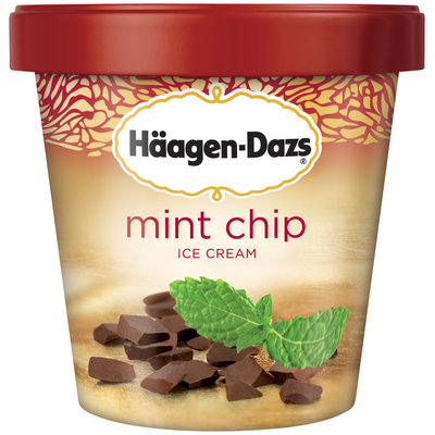 Haagen-Dazs Mint Chip Ice Cream