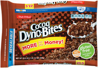Malt-O-Meal® Cocoa Dyno-Bites® Cereal 23.5 oz. ZIP-PAK