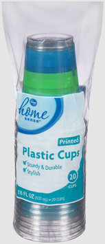 Kroger® Home Sense™ Printed Plastic Cups 20 ct Bag