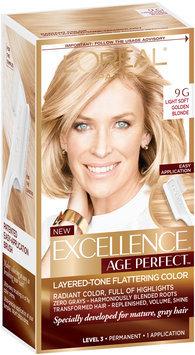 L'Oréal® Paris Excellence® Age Perfect™ Layered-Tone Flattering Color 9G Light Soft Golden Blonde 1 Kit
