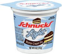 Schnucks® Light Nonfat Yogurt Boston Cream Pie 6 oz.