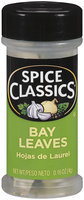 Spice Classics® Bay Leaves 0.16 oz. Shaker