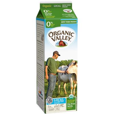 Organic Valley® Skim Milk 1 qt. Carton