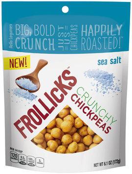 Frollicks™ Sea Salt Crunchy Chickpeas 6.1 oz. Pouch