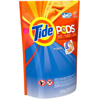 Tide PODS Laundry Detergent Original Scent 42 Count