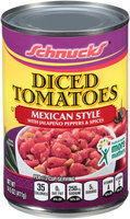 Schnucks® Mexican Style Diced Tomatoes 14.5 oz. Can