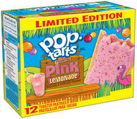 Kellogg's Pop-Tarts Frosted Pink Lemonade Toaster Pastries