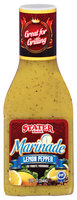 Stater Bros. Lemon Pepper Marinade 12 Oz Bottle