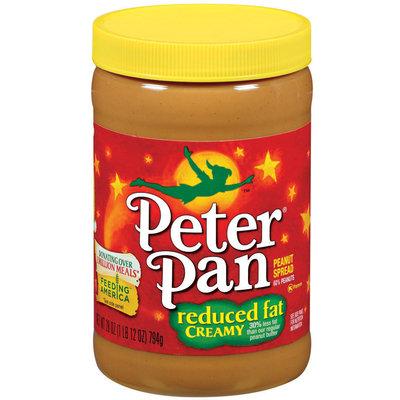 Peter Pan Creamy Reduced Fat Peanut Spread 28 Oz Plastic Jar