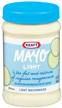 Kraft Mayo Light Mayonnaise 15 Oz Plastic Jar