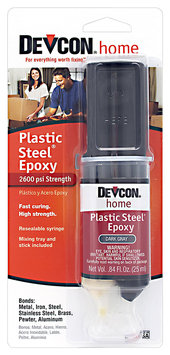 Devcon® Home Plastic Steel® Epoxy 0.84 fl. oz. Syringe
