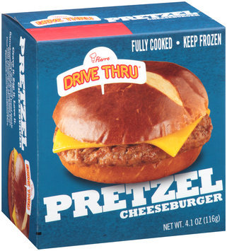 Pierre™ Drive Thru® Pretzel Cheeseburger