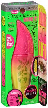 Physicians Formula® Organic Wear® Work It! Ultra Black Mascara 0.26 oz. Box