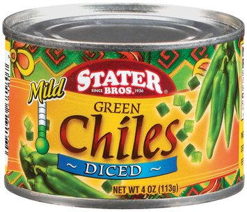 green chiles analysis