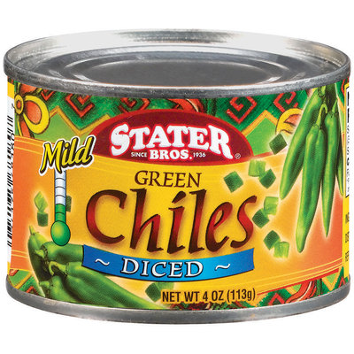 Stater Bros. Mild Diced Green Chiles
