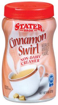 Stater Bros. Cinnamon Swirl Non-Dairy Creamer 8 Oz Plastic Container