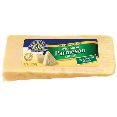 Crystal Farms® Wisconsin Parmesan Cheese 5 oz. Brick