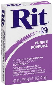 Rit® All-Purpose Concentrated Purple Dye 1.125 oz. Box