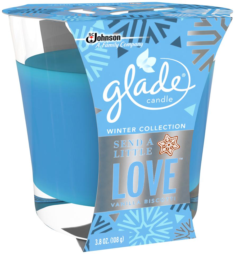 Glade® Send a Little Love™ Air Freshener Candle 3.8 oz. Jar