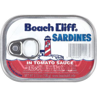 Beach Cliff® Sardines 3.75 oz Tin