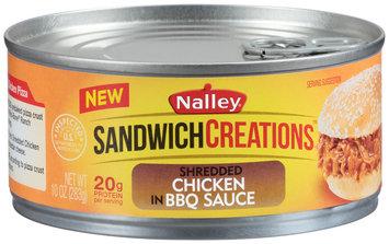 Nalley® Sandwich Creations™ Shredded Chicken in BBQ Sauce 10 oz. Can