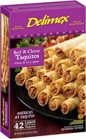 Delimex® Beef & Cheese Taquitos 42 ct Box