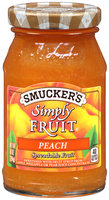 Smucker's® Simply Fruit® Peach Spreadable Fruit 10 oz. Jar