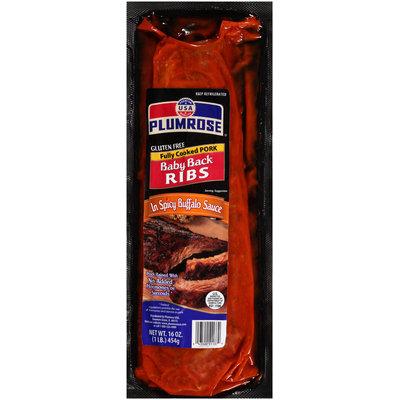Plumrose® Spicy Buffalo Sauce Baby Back Ribs 16 oz. Pack