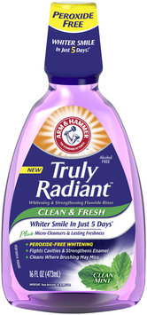 ARM & HAMMER™  Truly Radiant™ Clean Mint Fluoride Rinse