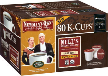 Newman's Own Organics Nell's Breakfast Blend 80 Ct K-Cups Coffee 32.6 Oz Box