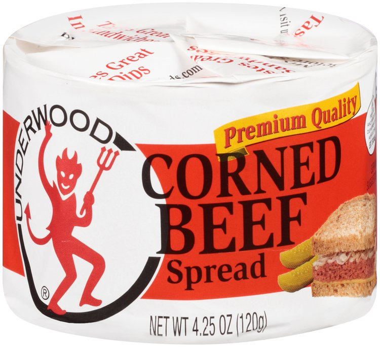 Underwood® Corned Beef Spread 4.25 oz. Can