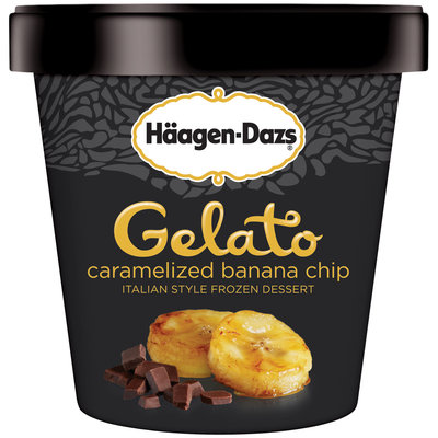 Haagen-Dazs Caramelized Banana Chip Gelato