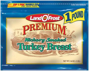 Land O' Frost Premium Premium Hickory Smoked Turkey Breast 16 Oz Zip Pak