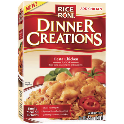 Rice-A-Roni Dinner Creations Fiesta Chicken Rice & Pasta Mix 7.7 Oz Box
