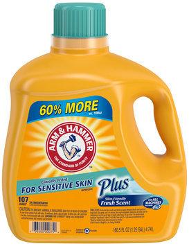 Arm & Hammer™ Fresh Scent Plus Detergent 160.5 fl. oz. Jug