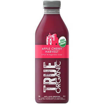 True Organic™ Apple Cherry Harvest™ Juice Smoothie 28 fl. oz. Bottle