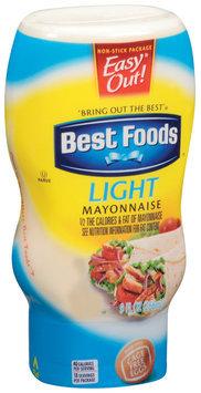 Best Foods Light Mayonnaise 9 Oz Squeeze Bottle