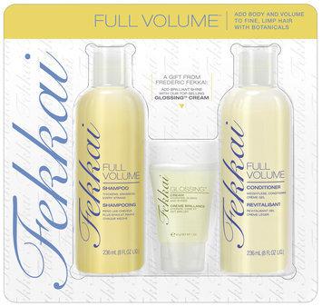 Fekkai Full Volume Hair Care Kit 3 pc Carded Pack
