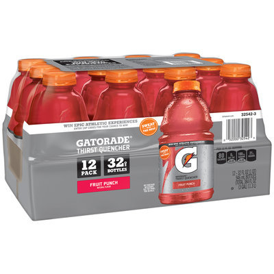 Gatorade® G Series Fruit Punch Sports Drink 12-32 fl. oz. Bottles