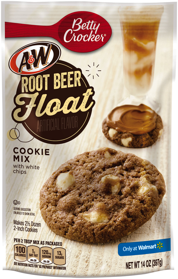 Betty Crocker™ A&W  Root Beer Float Cookie Mix with White Chips